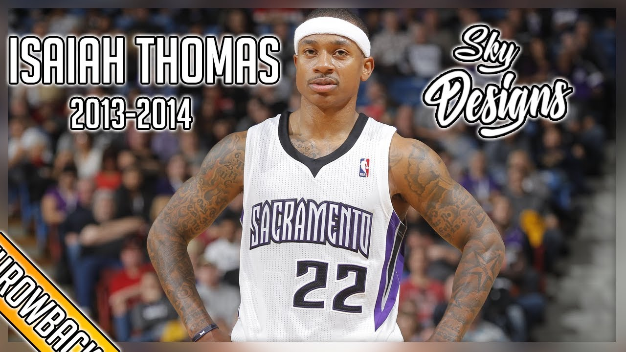 19c145e2a Isaiah Thomas THROWBACK 2013-2014 Season Highlights    20.3 PPG