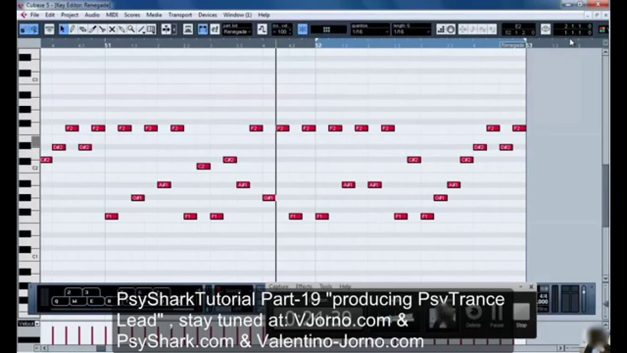 Cubase trance tutorial episode. 1 (step by step) | producerbox.