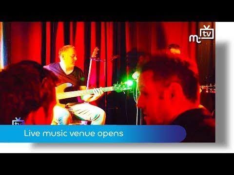 Live music venue opens