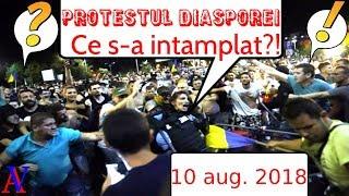 Protestul Diasporei | 10 august 2018 | (18+)