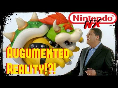 Nintendo NX  Augmented Reality!?!