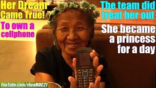 Travel to Manila Philippines and Make This Poor Old Lady Happy. A Film About Love for Humanity