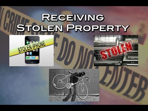 CA Receiving Stolen Property Laws | Penal Code 496 PC