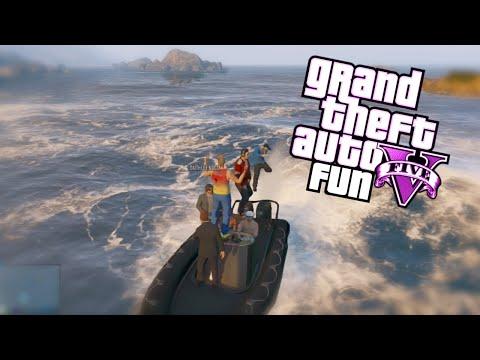 GTA 5 Fun: Spare Parts Edition - Air Walk Glitch, Boat Launches, Invincible NPC's