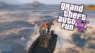 GTA 5 Fun: Spare Parts Edition - Air Walk Glitch, Boat Launches, Invincible NPC