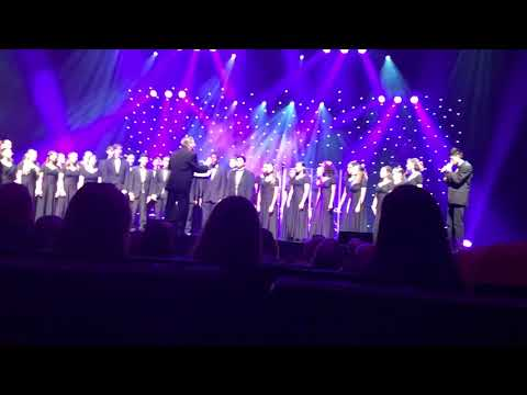 Olympic Heights High School SoundSation Chorus opening for The Ten Tenors at the Kravis Center
