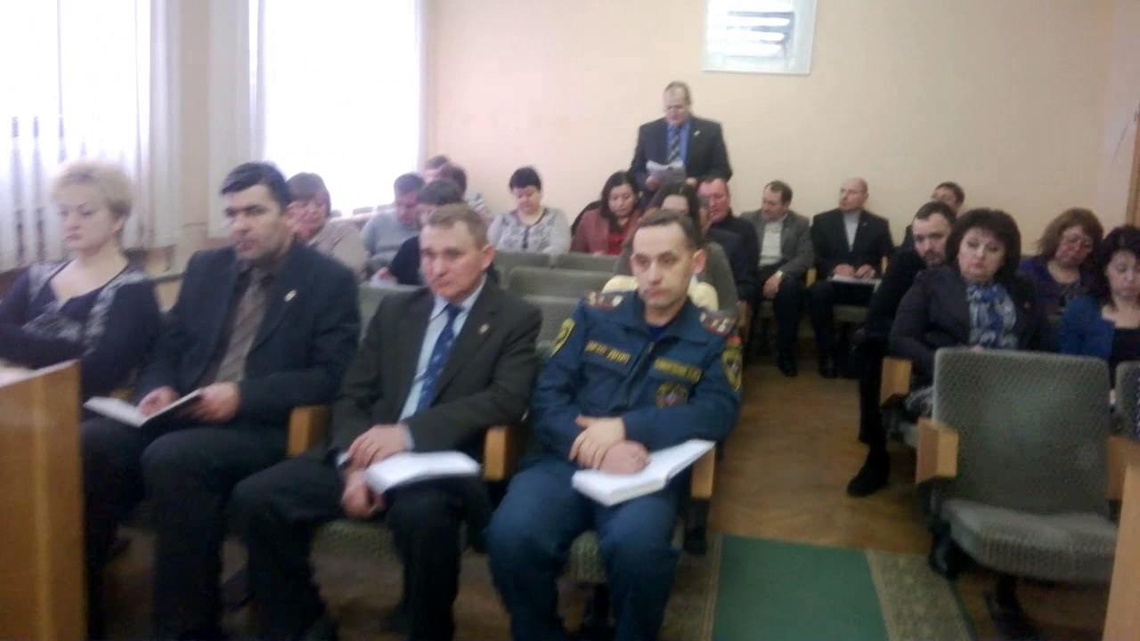 Аппаратное совещание в администрации города Горловка 14.02.2017