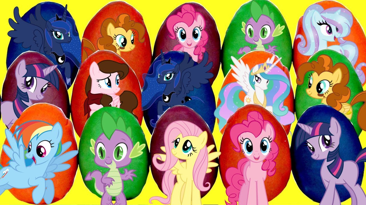 Download Discovering My Little Pony MLP Playdoh Egg Toy Surprises