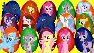 MY LITTLE PONY MLP Playdoh Egg Toy Surprises, Pinkie Pie Princess Cadence Rarity Palace Magic TUYC