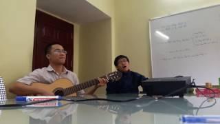 Bài thánh ca buồn. Đệm hát ghita
