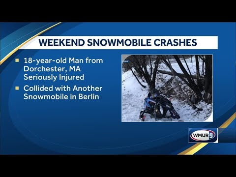 NH Fish And Game Officers Respond To Snowmobile Crashes Over Weekend