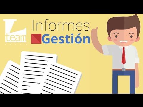 Informes de Gestión - YouTube - formatos de informes gerenciales