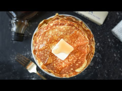 Keto Pancakes | Low Carb Coconut Flour Cream Cheese Pancakes For Keto | No Sugar Added
