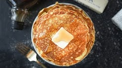 Keto Pancakes | Low Carb Coconut Flour Cream Cheese Pancakes For Keto | No Sugar Added