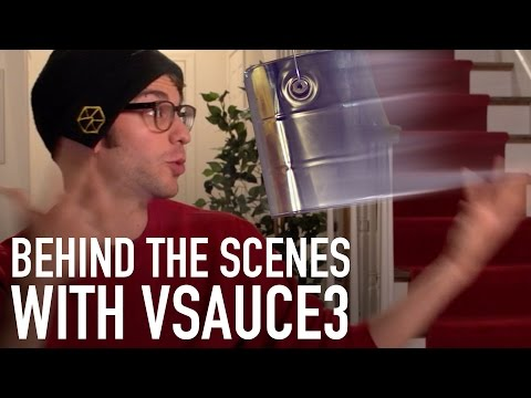 Home Alone with Vsauce3: Behind the Scenes