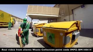 Уроки экологии с Олегом Жоховым. Мир. Процесс сбора и вывоза отходов. Пошаговый процесс.