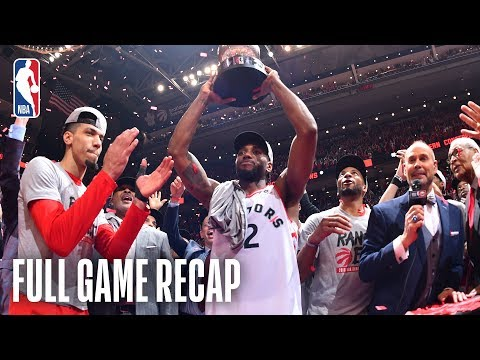 BUCKS vs RAPTORS | Toronto Makes History! | Game 6