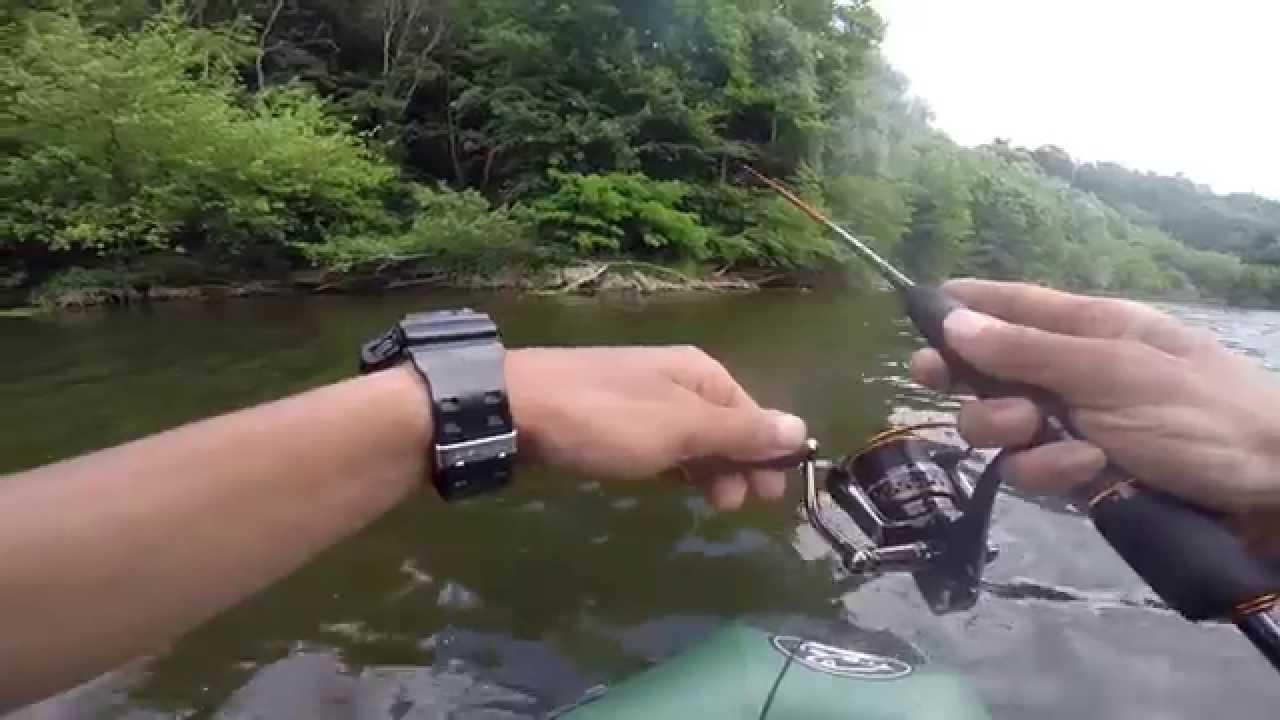 Vidéo la pêche sur la flotte en mars