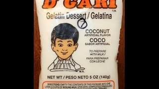 Mexican Munchies #3: D'gari Gelatin Dessert – Coconut Review