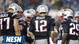 Heavy Rain Shouldn't Be A Problem For Patriots Vs. Jets