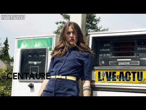 Vidéo Interview Centaure pour Live Actu : « Je visualise ma voix comme une palette de peinture ! »