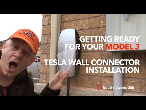 Tesla Wall Connector Install | Model 3 Owners Club