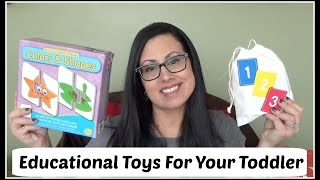 Educational Toys For Your Toddler / 2 Years Old