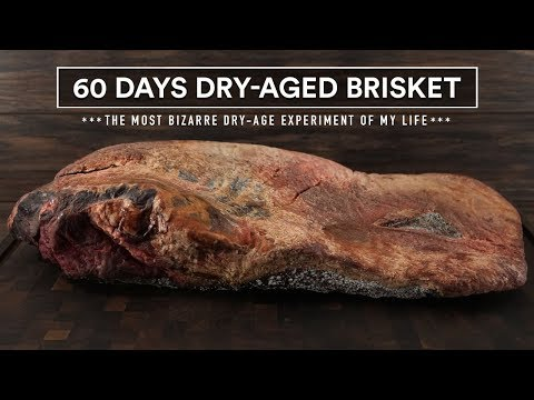 60 Days DRY-AGED BRISKET Experiment | GugaFoods