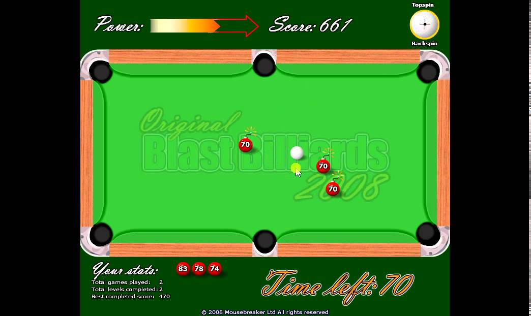Billard 2 Player