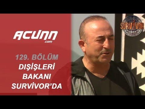 Dışişleri Bakanı Mevlüt Çavuşoğlu Survivor Adasında! | Büyük Final | Survivor 2017