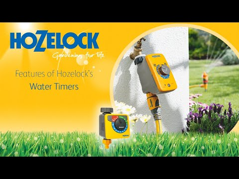 Hozelock Timer Overview 2705 2700 2703 Youtube