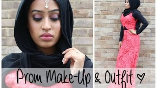 Prom Make Up and Outfit | Sebinaah