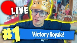 FORTNITE: MY FIRST REAL VITTORY IN LIVE!!