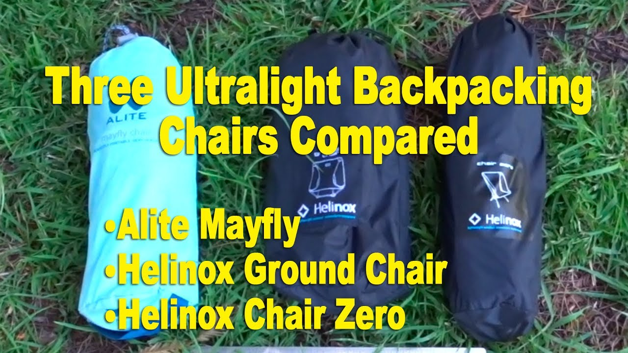 Helinox Ground Chair Dream Swing Hammock Review Comparison Zero And Alite Mayfly
