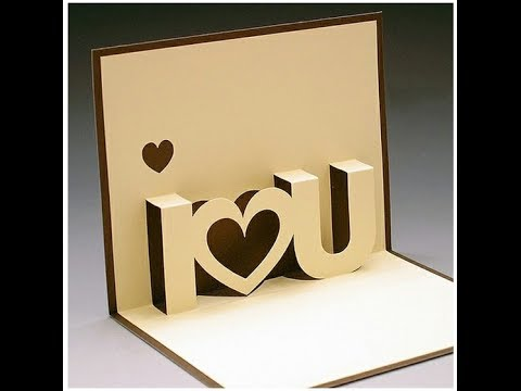 Diy valentines day pop up card diy anniversary cards gift idea diy valentines day pop up card diy anniversary cards gift idea handmade greeting card ideas solutioingenieria Image collections