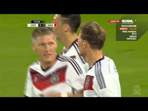 Höwedes' Goal (Germany 3-1 Armenia)