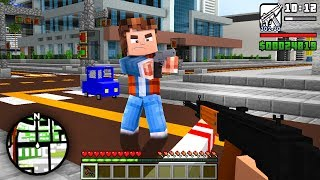 ENTRAMOS DENTRO DO GTA NO MINECRAFT !