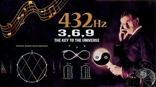 432 Hz - Unlocking The Magnificence Of The 3 6 9, The Key To The Universe (without music)