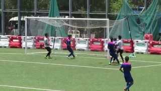流浪vs夢想駿其(2015.8.19.香港足球季前熱身賽)之入球2:1