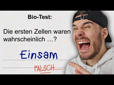 Die LUSTIGSTEN Schülerantworten in TESTS (LACHFLASH)
