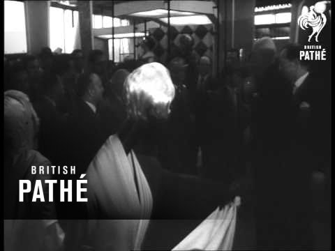 British Trade Fair Held In Moscow (1961)
