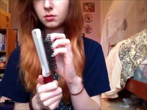 ASMR Sounds: Hairbrush sounds & hair brushing (: - YouTube