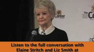 Elaine Stritch and Liz Smith in conversation at the Center