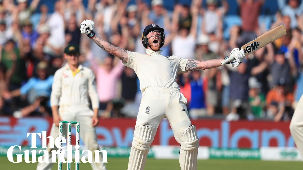Download Ben Stokes on England's sensational third test Ashes win over Australia