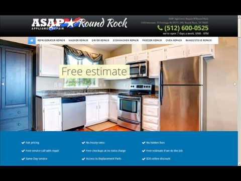 ASAP Appliance Repair of Round Rock-(512) 600-0525
