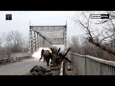 22.11.2014 Stanytsia Luhanska. Lugansk front line.
