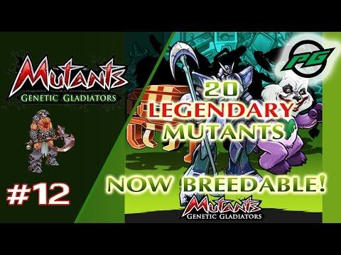 Mutants: Genetic Gladiators E12 - New Breedable Legendary Mutants