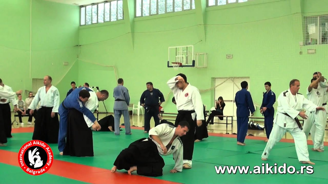 Aikido seminar:Praktična primena aikido principa | Polaganje za visoke pojaseve
