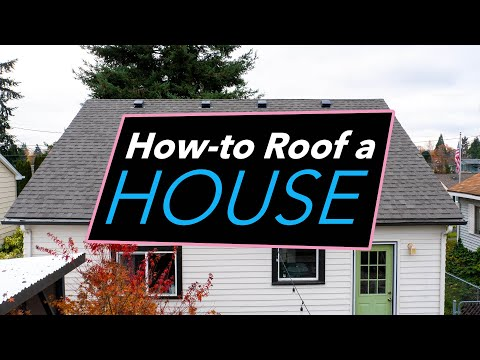 How To Roof A House Diy Roofing Tips Tricks Pabco Roofing Products Washington Cedar Supply Youtube