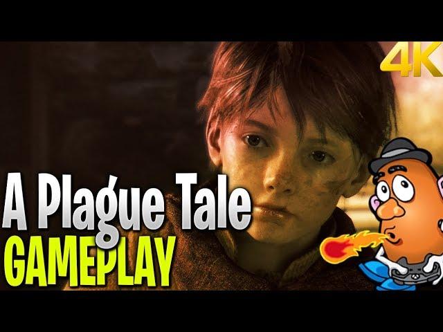 A Plague Tale Innocence Uncut Gameplay Trailer